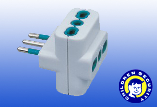Universal Power Adapter Italy Type