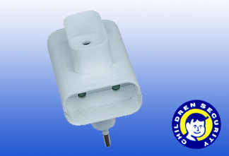 Double Universal Power Adapter