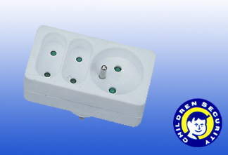 3outlet Universal Power Adapter