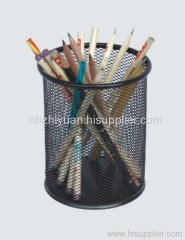Round Mesh pencil cup holder