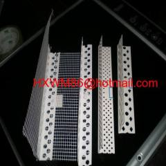 PVC angle bead with wire mesh