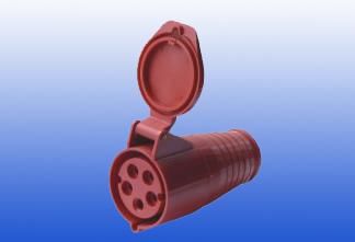 3pin wall socket