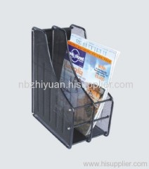 Popular Metal mesh Magazine tray
