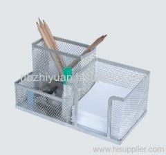 Silver Pencil Cup Holder