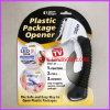 Plastic package opener