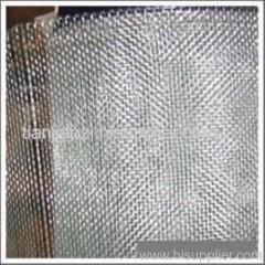 electro galvanized window screen