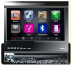 In-dash one DIN DVD/GPS/DTV