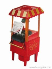 old fashioned hot air popcorn maker no cart