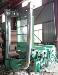 Two-roller Gining Waste Cleaning Machine