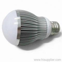 led bulb light night