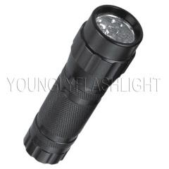 9 LEDs flashlights