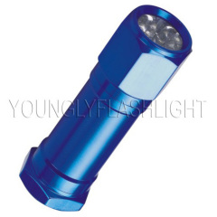 8 LEDs flashlight