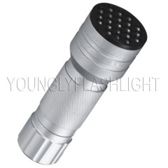 21 LEDs aluminum flashlight