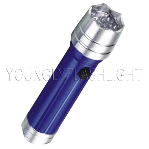 14 LEDs aluminum portable flashlight