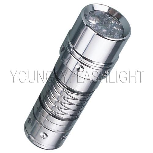 7 LEDs aluminum portable flashlight