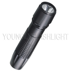 3W LED metallic portable flashlights
