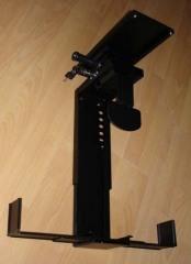 Width adjustable cpu holders