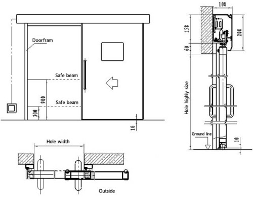 Barn Door Track System For Cabinets Garage Cabinets With