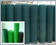 green PVC welded wire meshes