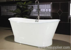 Cast iron bathtub iron sheeting