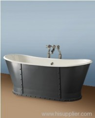 Apron bathtubs