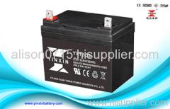 12V33Ah energy storage battery / sealed maintenance free lead acid battery / solar power lead acid battery