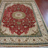 Persian Silk Rug/Carpet : 400 Lines Silk Carpet