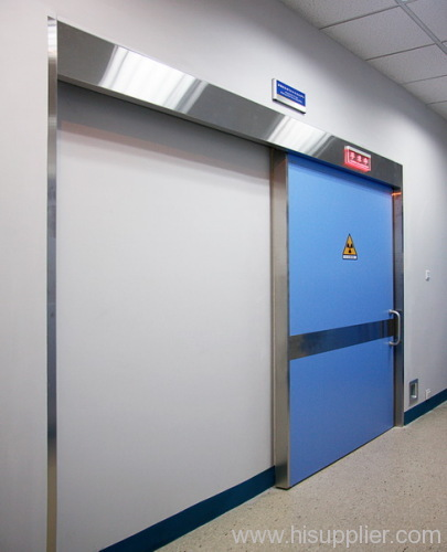 heavy duty automatic sliding lead doors