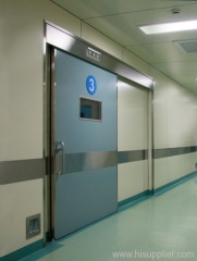 in-wall mounting type automatic hermetic sliding doors for operation rooms