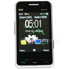 N900 Quad Band Dual Cards with Analog TV Touch Screen Cell Phone