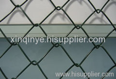 Galvanized Diamond Fence