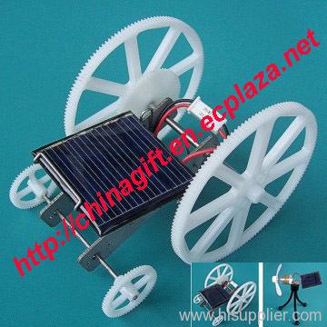 DIY Solar Car & Solar Fan Set