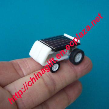 The world smallest solar car