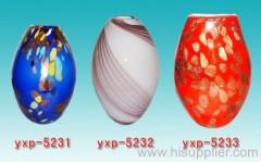 glass vase , glass flower vase