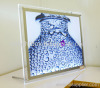 Slim light box--single sided crystal light box