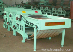 Automatic Feeding 3-Roller Fabric Waste Recycling Machine