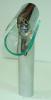 Glass basin faucet