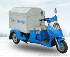 electric garbage vehicle