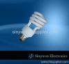 Half Spiral Energy Efficient Light