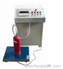 Water type fire extinguisher filling mahcine