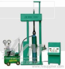 steel cylinder pressure test loader-unloader