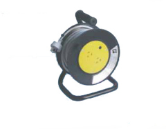 spring type small cable reel