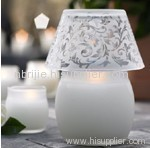 White Lamp Candle
