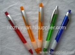 Promotion Plastic Clip Ball Pens