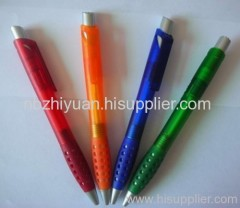 Beautiful Plastic Grip Ball Pen