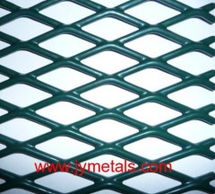 PVC Coated Expanded Metal Meshes