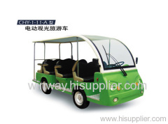 electric sightseeing vehicle