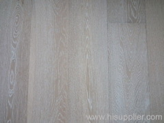 brushed&white wash oak engineered wood flooring