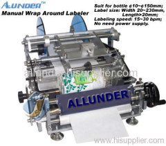 Wrap Around Manual Labeler/Labeling Machine