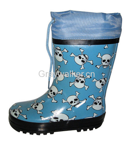 Kid's Rubber Boots
